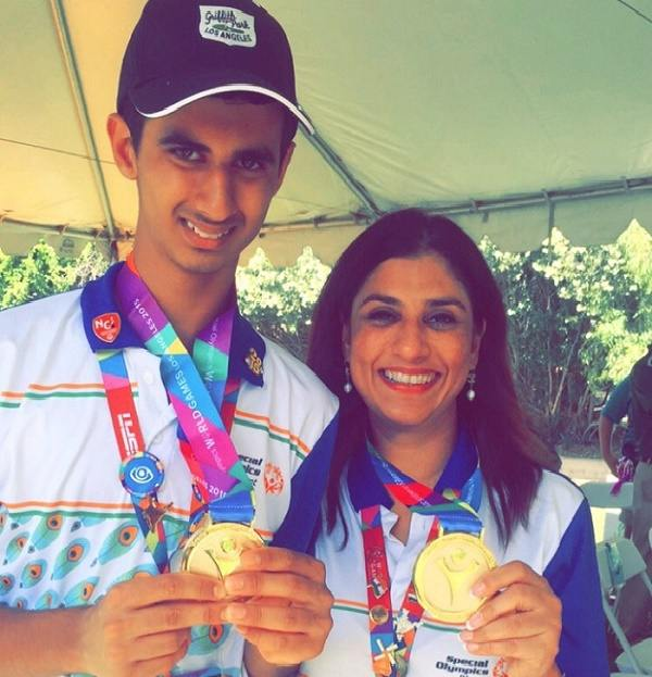 Ndian team ranveer saini monica jajoo win at world special ndian team ranveer saini monica jajoo win at world special olympics golf los angeles usa altavistaventures