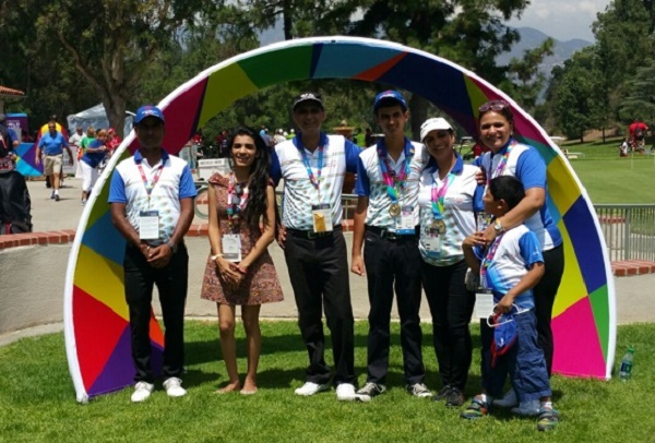 Indian team ranveer saini monica jajoo win at world special indian team ranveer saini monica jajoo win at world special olympics golf los angeles usa altavistaventures