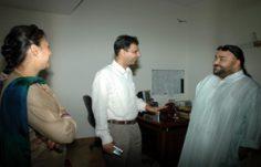 Visit of Mr.J.J.Valaya
