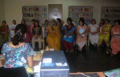 Workshop by Ms.Shobha Lidder