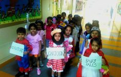 "Storytelling skills ""How we express ourselves"" by nursery students"