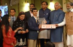 The BHIM AWARD, has been confered to our student Ranveer Singh Saini