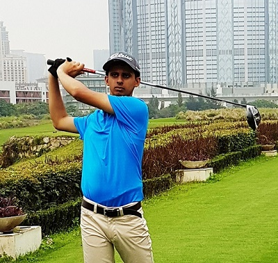 Ranveer Singh Saini won Gold at Special Olympics Golf Masters 2017