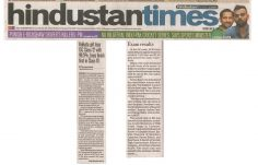 Hindustan Times 30 May 2017
