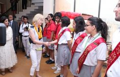 Youth Leaders' Summit 2017 - Ms. Mary Davis visits (CEO Special Olympics International)