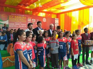 Scottish High's under 10 girls Basketball team win the 23rd Ramjas Basketball Champions league (2)