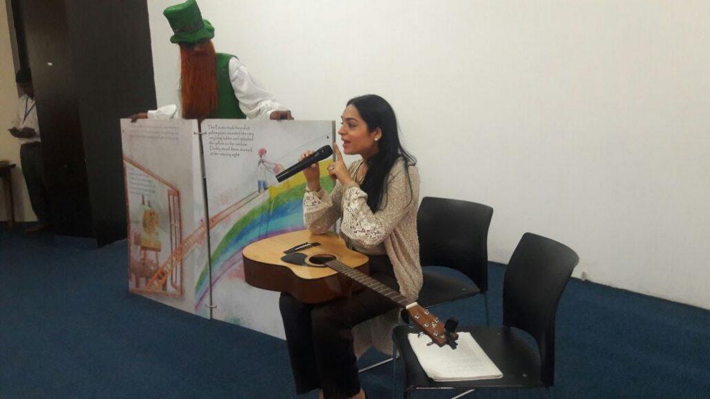 story telling by Zenny Jhelumi