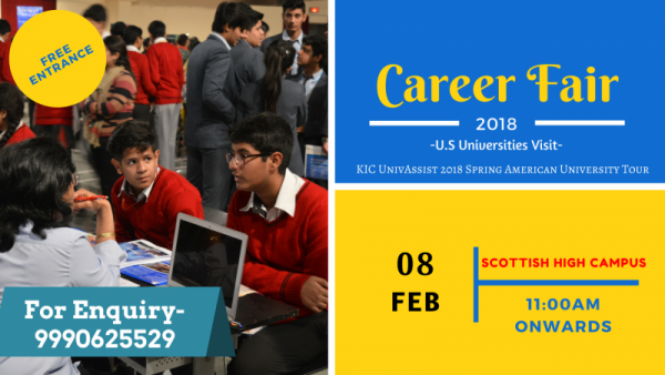 Career Fair 2018 (U.S Universities Visit)