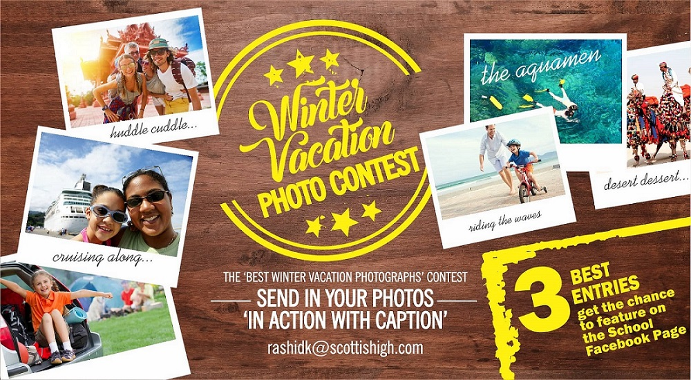 Winter Vacation Photo Contest 2018