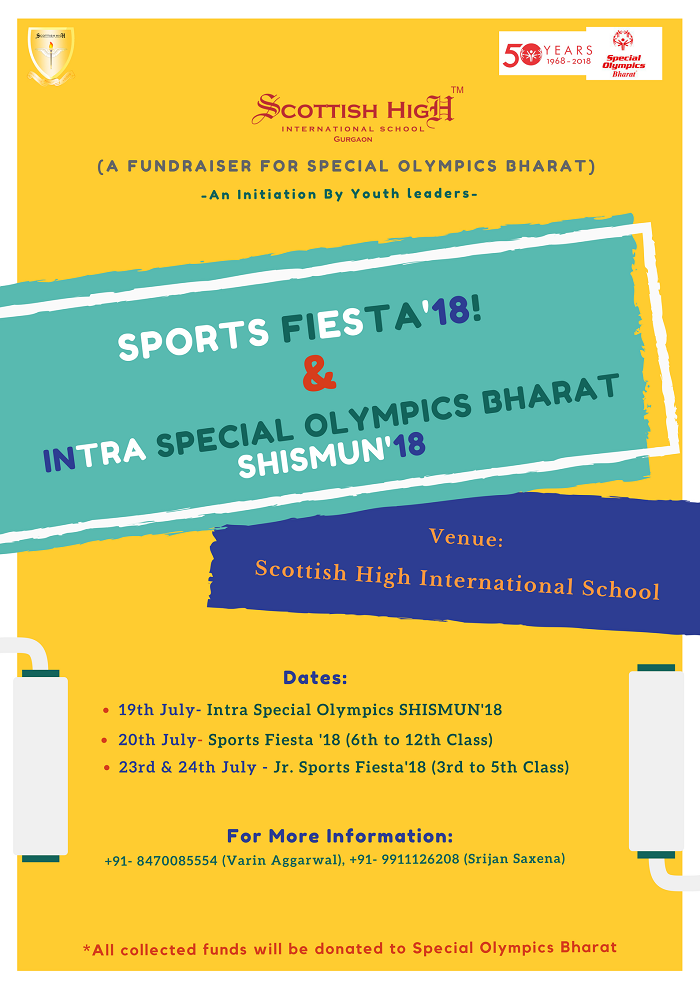 Sports Fiesta'18 & Intra Special Olympics Shismun18