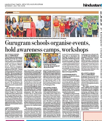 Special Olympics 50 years celebrations - Coverage by Hindustan Times