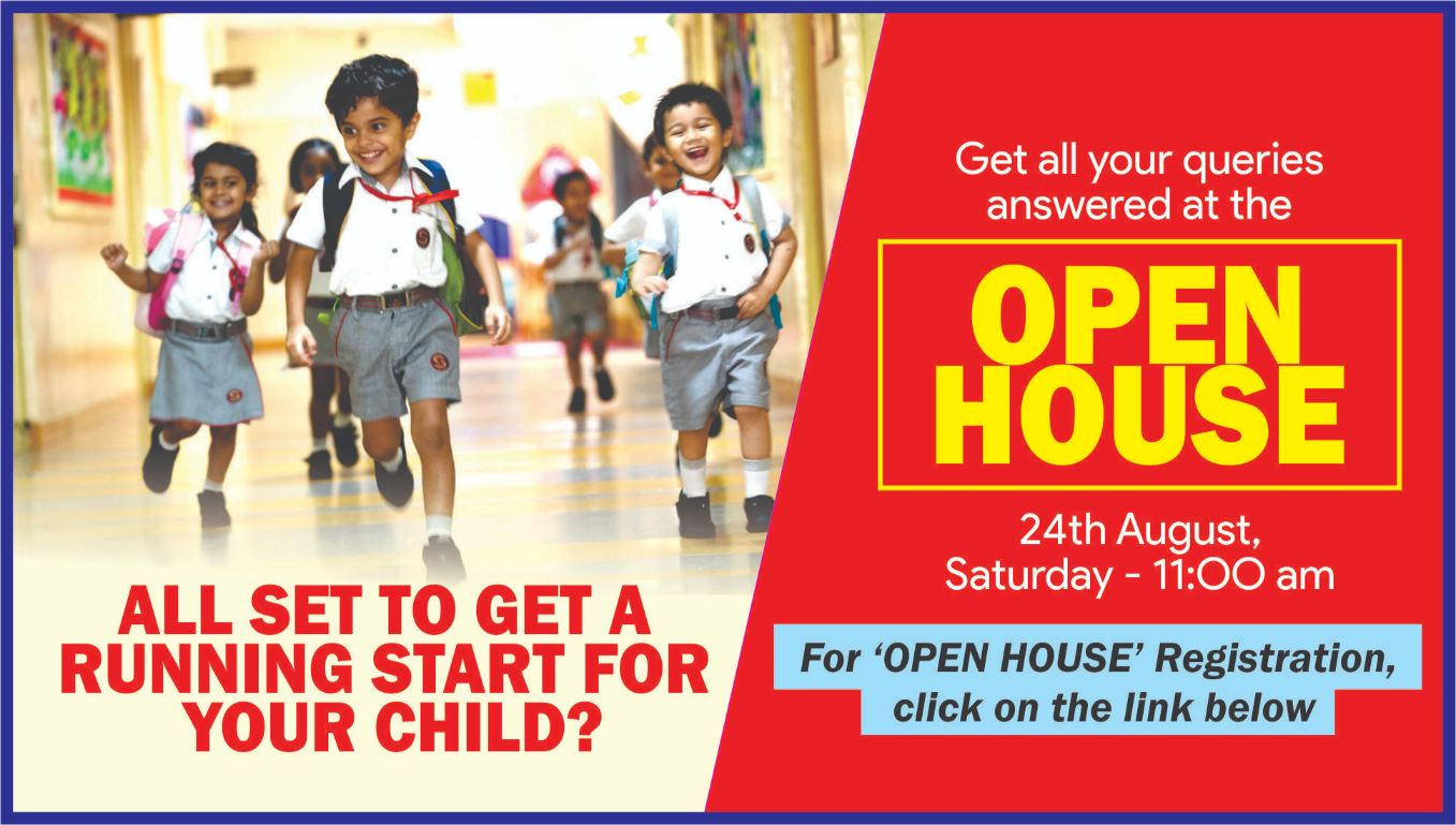 An Open House -registration for school admission session 2020-21 -gurgaon
