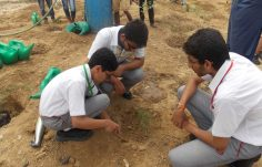 Green Warriors for planting Aravalli native species at Bundh (6)