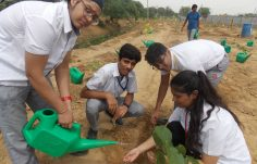 Green Warriors for planting Aravalli native species at Bundh (7)
