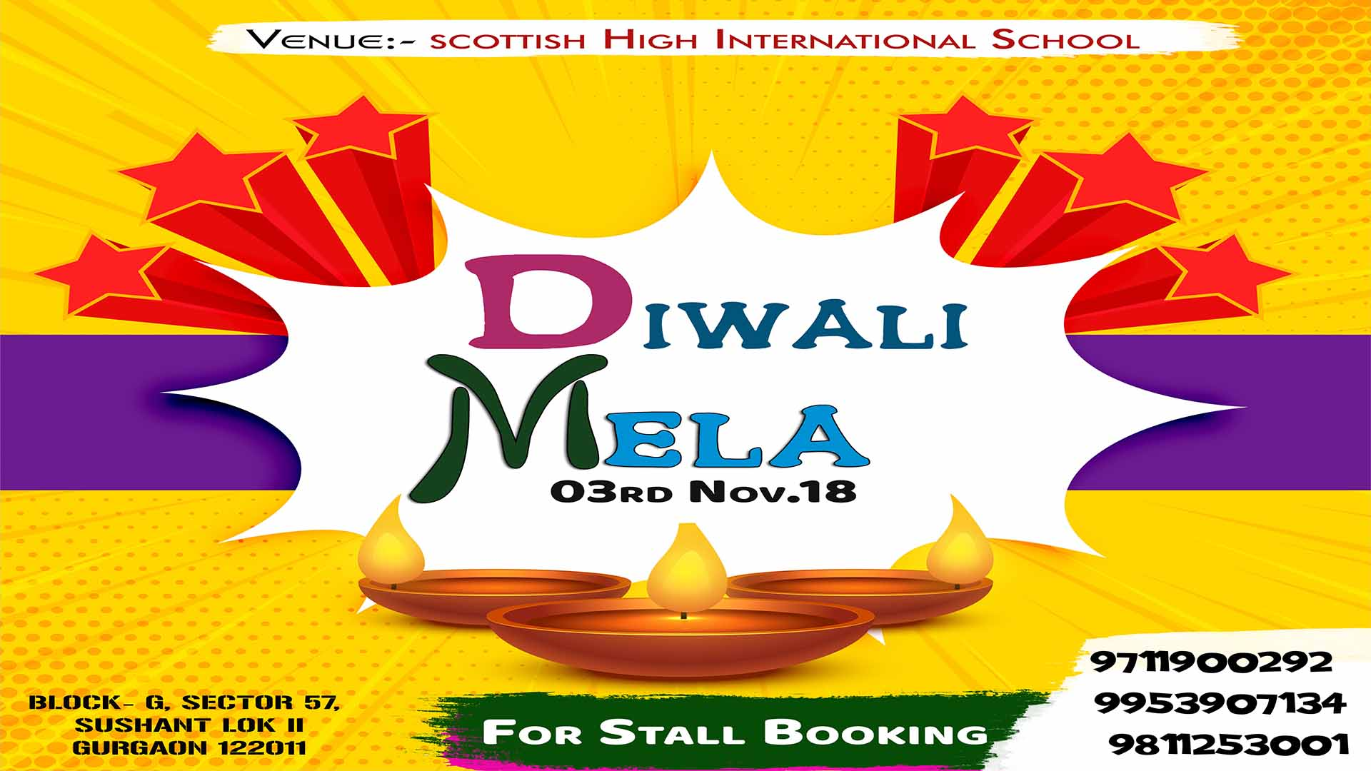 Diwali Mela (Full On Masti ) - 3rd November 2018