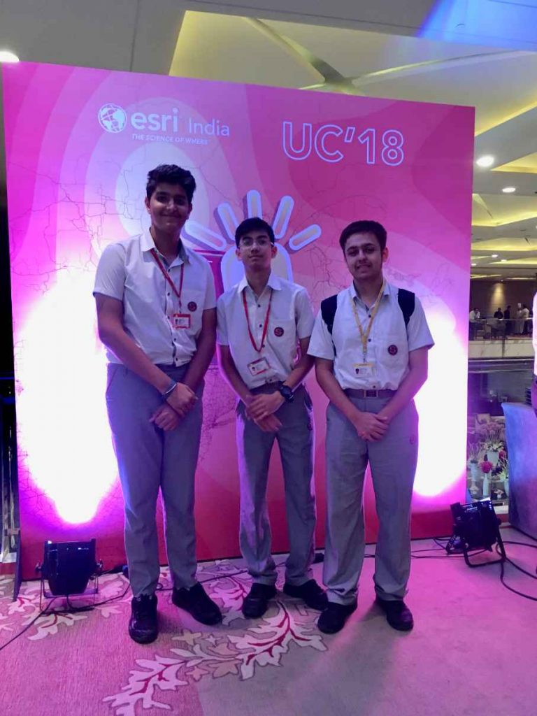 Esri India User Conference Attended by Highlanders (1)