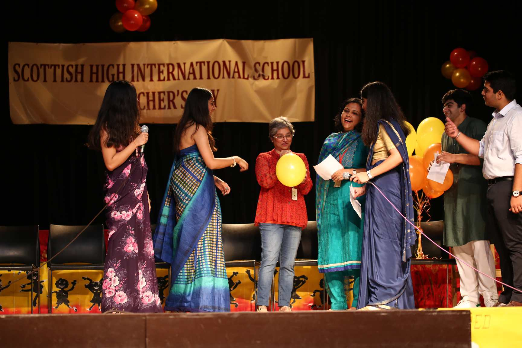 Teachers Day celebrations 2018 - Scottish High International School