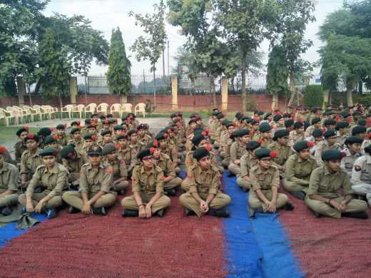 NCC cadets attend outdoor training camp (5)