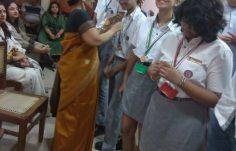 The Ambassadors of 'Hindi'- to Scottish High International School students (2)