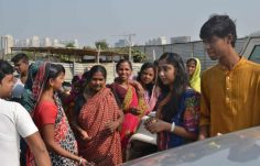 A donation drive initiated by the Scottish High student council (5)