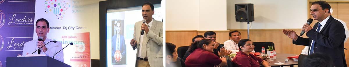 Kartikay Saini as a Motivational Speaker
