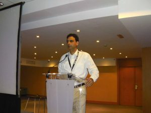 Dr Kartikay Saini - EduLEARN-Barcelona, Spain in 2012- Conducted workshop on 'Controlling your self-control-Myths & Realities of True Assessment in the Global context'