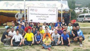 Dr Kartikay Saini , First Special Olympics Bhutan Trainer Coaches Seminar