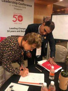 Dr Kartikay Saini Global Leadership Conference Singapore 2018
