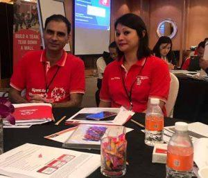Dr Kartikay Saini Special Olympics Leadership Conference