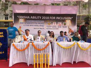 Dr Kartikay Saini at Odisha ability 2018 for inclusion
