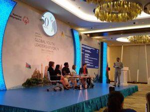 Global Youth Leadership forum - kartikay saini representing India