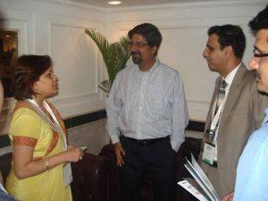 Kartikay Saini with Cricketer Mr. Krish Srikkanth