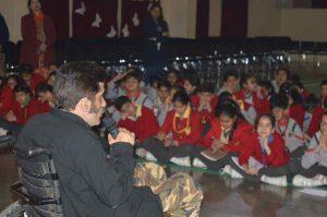 Mr Navin Gullia Visit at Scottish High (5)