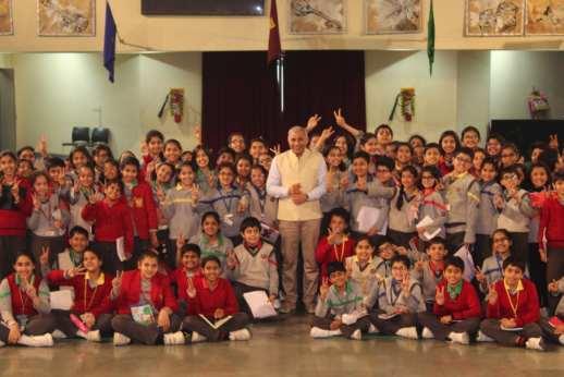 Mr. Ravi Kalra visit at Scottish High (12)