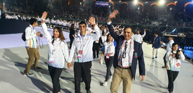 HIGHLANDERS LEADING INDIA AT SPECIAL OLYMPICS WORLD SUMMER GAMES, ABU DHABI 2019
