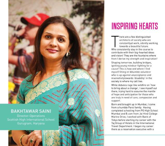 Mrs Bakhtawar Saini featured in Brain Feed Magazine for her outstanding contributions in the education sector (1)