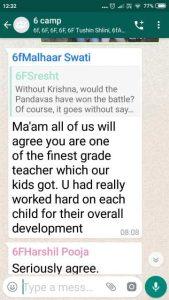 Parent Feedback | Scottish High International School
