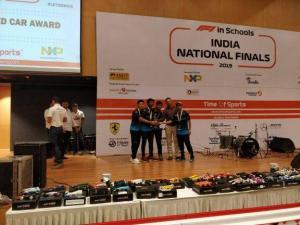 Highlanders won the National Finals of F1 in Schools (8)
