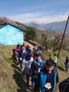 adventure at Camp Sursinghdhar - grade 7 (5)