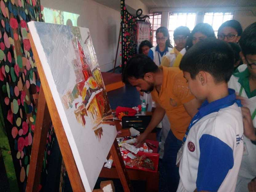 Art workshop at Scottish High International School (3)