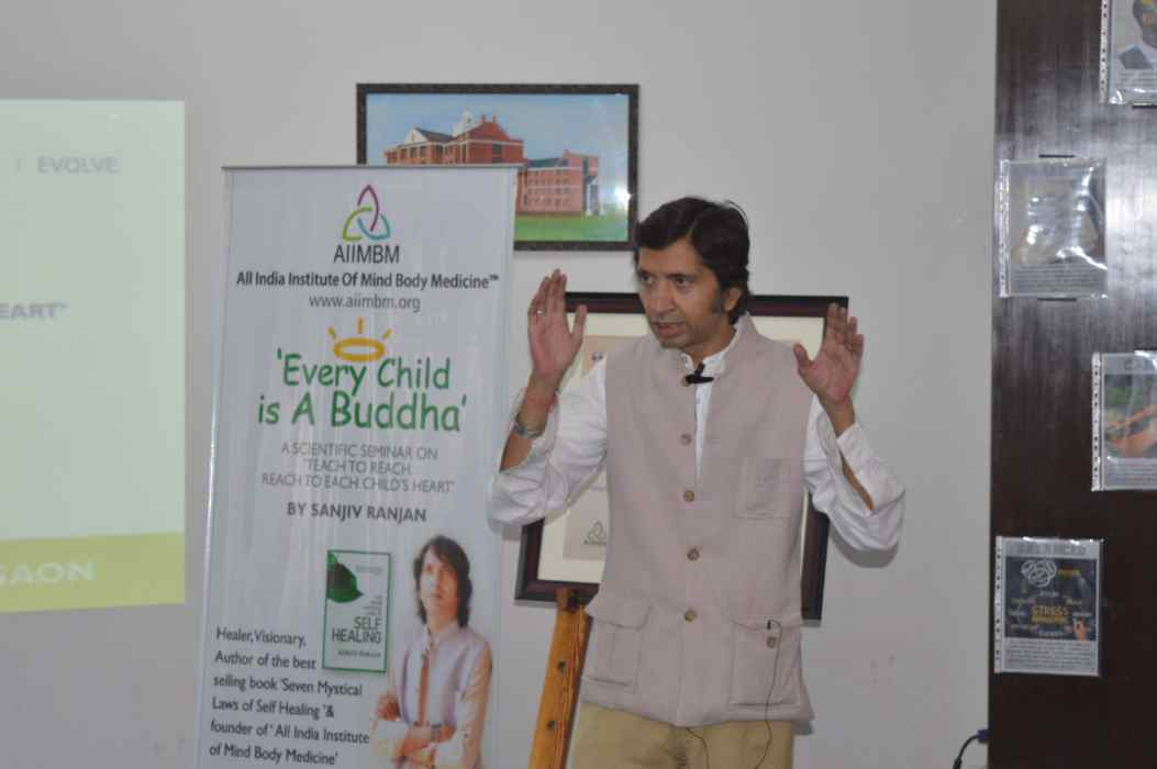Every Child is A Buddha - A seminar by Sanjiv Ranjan (5)
