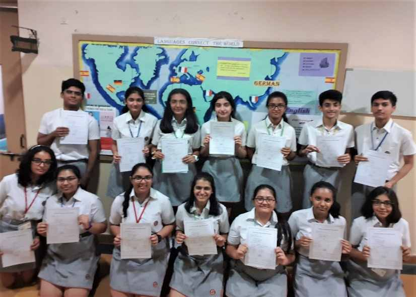 Highlanders awarded diplomas by the French Ministry of Education