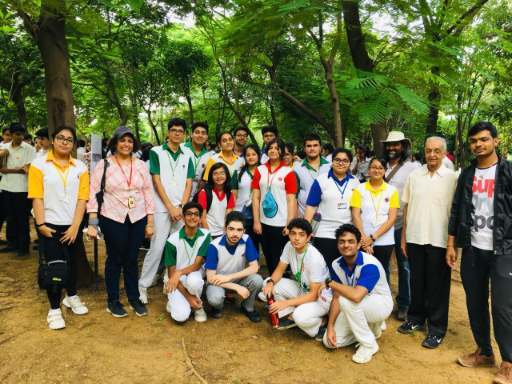 Going Native with Nature- A plantation drive (1)