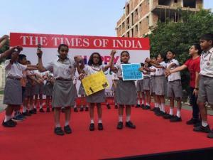 Little Highlanders took to the streets -Happy Streets initiative by Times of India (3)