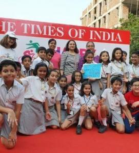 Little Highlanders took to the streets -Happy Streets initiative by Times of India (4)