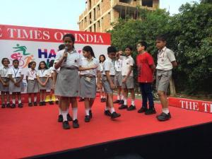 Little Highlanders took to the streets -Happy Streets initiative by Times of India (5)